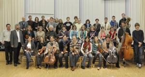 2010 Kooperation Musikschule, Stadtkapelle und Kantorei
